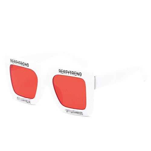 Ray Charles Sunglasses (sunglasses popular ladies sunglasses wild men retro glasses,White box transparent)