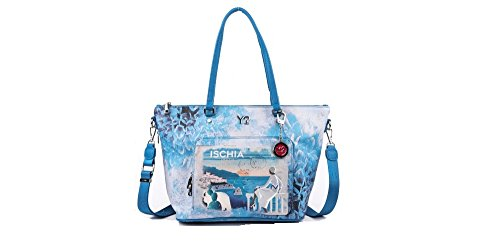 BORSA YNOT FUN SHOPPING BAG ZIP LARGE J-497 ISCHIA