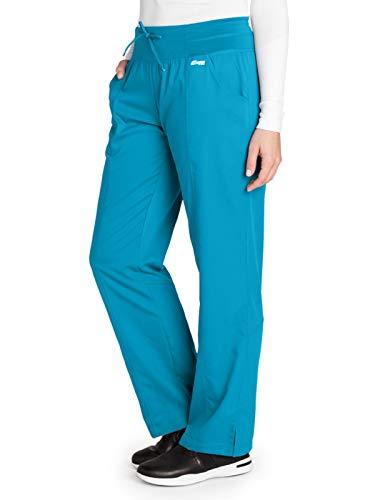(Grey's Anatomy Active 4276 Yoga Pant Blue Tonic L)