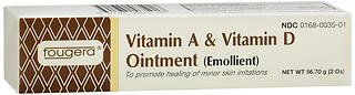 Fougera Vitamin A & D Ointment 2 oz (Pack of 4)