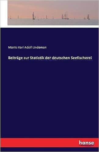 Beiträge zur Statistik der deutschen Seefischerei