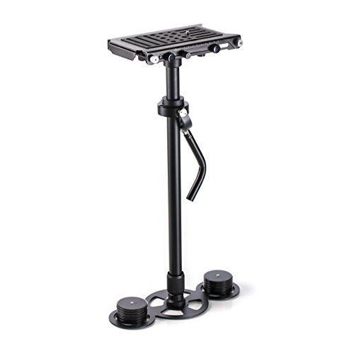 Movo VS1000PRO Telescoping Video Stabilizer System with Micro Balancing and Quick Release Platform - for DSLR Cameras & Camcorders up to 8.8 LBS from Movo