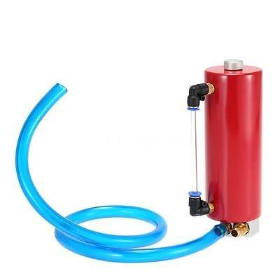 FidgetFidget Billet Aluminium Racing Engine Oil Catch Tank Can Reservoir Red Universal by FidgetFidget (Image #7)