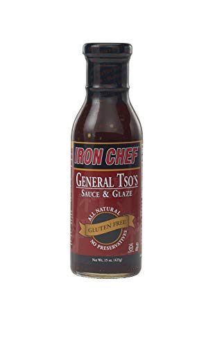 (Iron Chef General Tso's Sauce and Glaze, Gluten Free, 2 Count (pack Of 2))