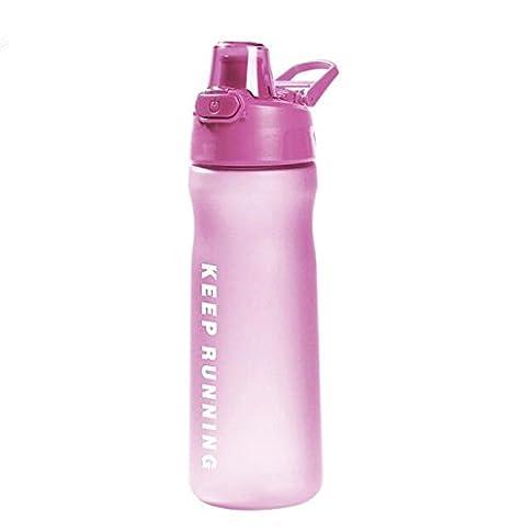 600ml Scrub Creative sport di acqua in bottiglia rimbalzare il coperchio in plastica sano tenere acceso il bollitore le mie bottiglie dacqua