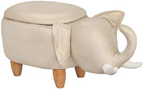 Homegear Animal Kids/Nursery Ride-On Storage Ottoman/Footrest Stool - the best ottoman chair for the money