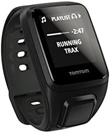 TomTom Spark Cardio Music GPS Fitness Watch Black Small