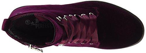 Donna 047202 Burgundy XTI Rosso Burgundy Stivali q48nRA18E