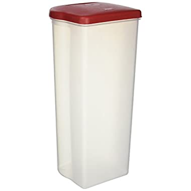 Rubbermaid Specialty Food Storage Containers, Bread Keeper, Red (1832489)