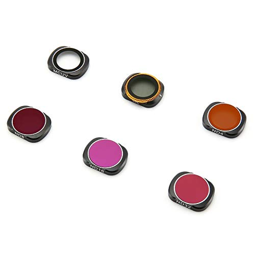Wikiwand 6Pc Camera Lens Filters Explosion-Proof HD Optical Glass for OSMO Pocket by Wikiwand (Image #1)