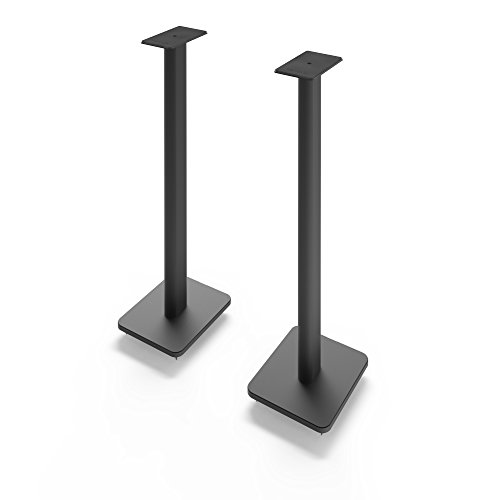 "Kanto SP32PL 32"" Bookshelf Speaker Stands, Black"