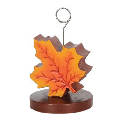 Fall Leaf Photo Holder Weight ()