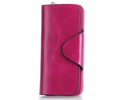 Textured Clutch Wallet - 7
