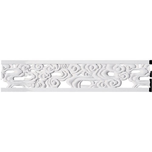 "7""H x 5/8""P x 94 1/2""L Flower Pierced Panel Moulding"