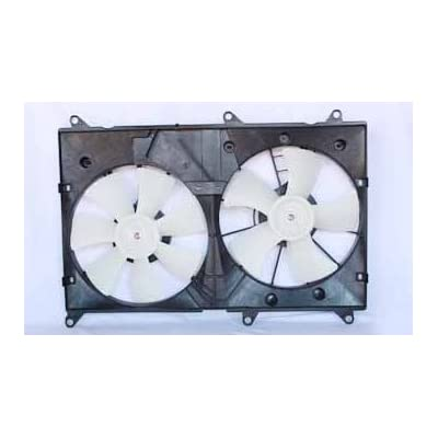 TYC 620810 Toyota Highlander Replacement Radiator/Condenser Cooling Fan Assembly: Automotive