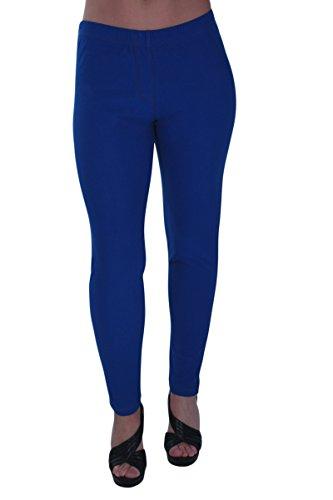 Starla Taille Femmes Eyecatch Pantalon Aux Jeans Grand Dames Jeggings Royal Bleu tendue nBpx6dqw8x