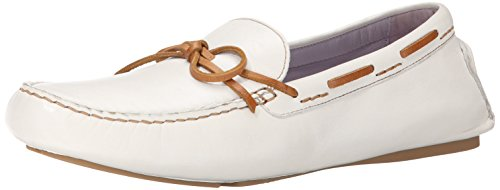 Johnston & Murphy Womens Maggie Camp Moccasin White