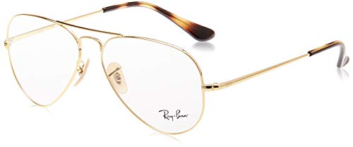 Ray-Ban Rx6489 Metal Teardrop Prescription Eyeglass Frames