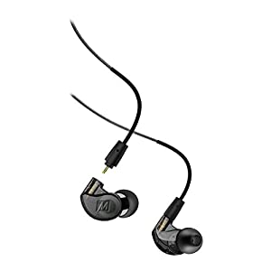 MEE audio M6 PRO 2nd Generation Universal-Fit Noise-Isolating Musicians' in-Ear Monitors with Detachable Cables (Smoke)