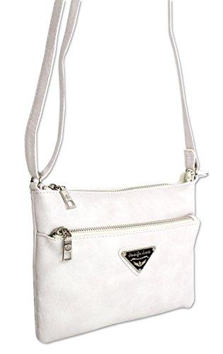 Bolsos de mano, bolsos de hombro Bolso multifuncional para el hombro Jennifer Jones Bolso para el hombro Classic Cuero