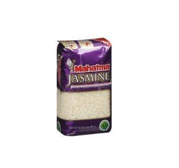 Mahatma, Dried Jasmine Rice, 32oz Bag (Pack of 4) by Mahatma