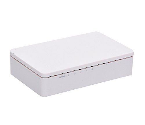 iCreatin 5 Ports 65W Power over Ethernet POE Switch with 4 PoE+1 Uplink,10/100Mbps (4-ports) by iCreatin (Image #1)