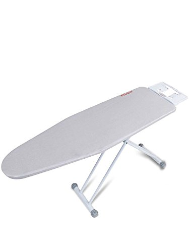 Lady Felicia Professional Heavy Duty Wide Ironing Board with Heat Resistant Cloth Cover