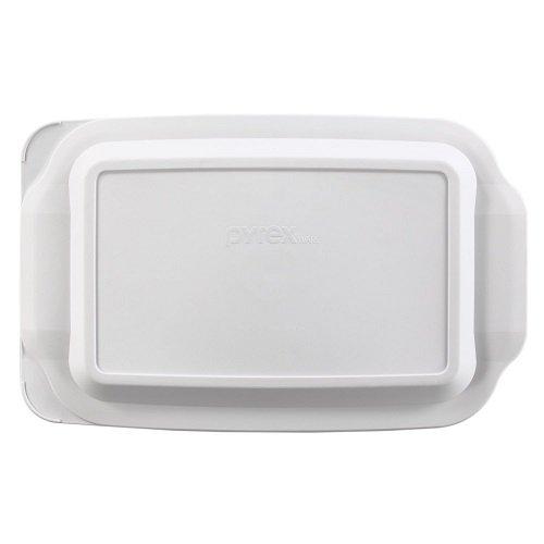 Pyrex 3 Quart - Bandeja para horno, color blanco: Amazon.es: Hogar
