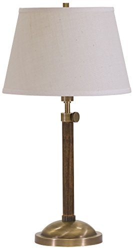House of Troy R450-AB Richmond Adjustable Table Lamp, Antique Brass