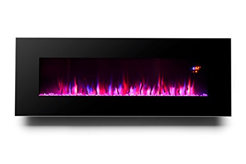 3g Plus 50 Electric Fireplace Wall Mounted Heater Crystal
