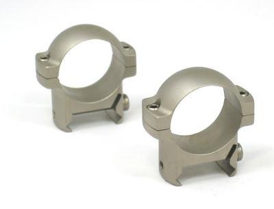Burris Optics Zee Rings, 1'' Low, Nickel by Burris Optics
