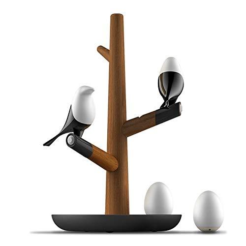 QGT QGLámparas de Escritorio Lucky Bird Lámpara de Mesa de Noche ...