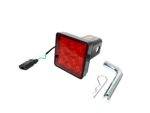 Hitch Cover LED Brake Light Towing Hitch Insert (2' Standard Size)