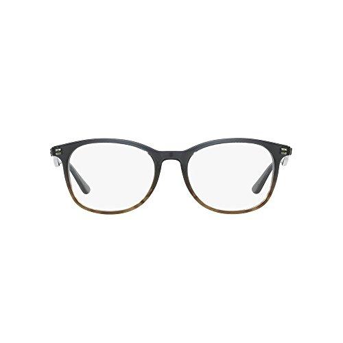 Brown rx5356 Ban Clear grise 54 de 5766 Ray couleur rayures RX5356 54 Striped à 5766 verres on Grey marron RFnBUnWdqp