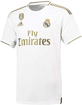 Camiseta de la 1ª equipación del Real Madrid 2019-20 Dorsal Hazard ...