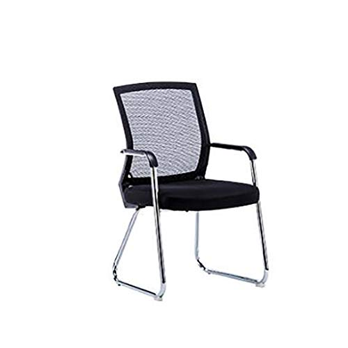 CCMMLLO Office Chair Lazy Staff Meeting Chair Bow Computer Chair Home Mahjong Stool Back seat -