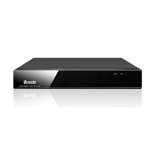 Zmodo 4Channel Security Surveillance Video Recorder DVR System – 3G Mobile 1TB Hard Drive Pre-installed, Best Gadgets