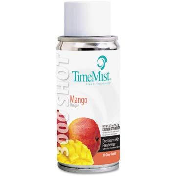 TimeMist Settings Micro Metered Aerosol Refills, Mango, 3oz, ()