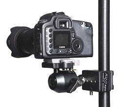 Ball Head Camera Support with Super Clamp by ALZO Digital