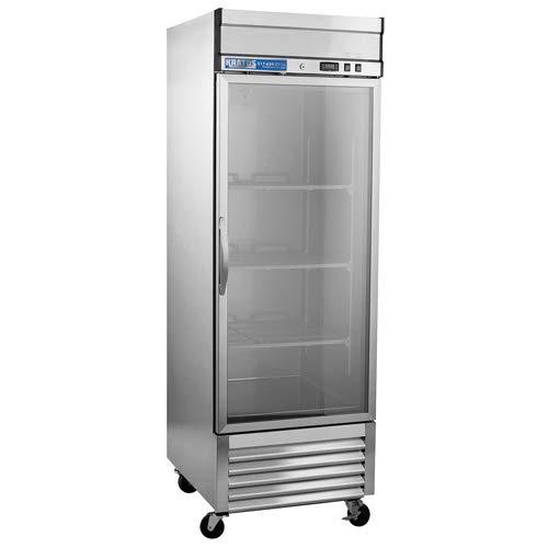 Kratos Refrigeration 69K-760 1 Door Reach-in Glass Door Refrigerator by KRATOS