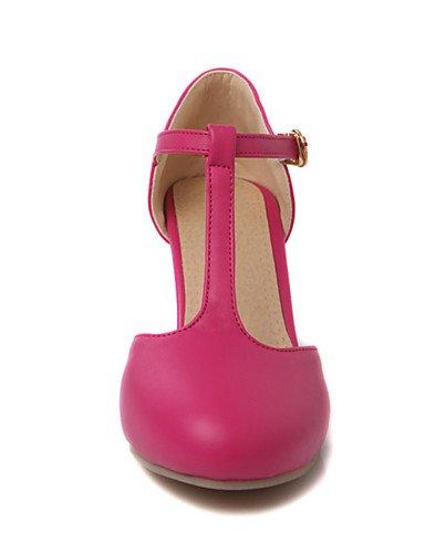 Robusto y Noche uk8 5 Fiesta de 5 Punta Negro Blanco us10 pink mujer T us10 ZQ Rosa Zapatos pink cn42 Casual Redonda uk7 8 5 cn43 en Tacones eu41 Tac¨®n 5 10 PU us9 peach 5 eu42 Vestido Tira Tacones u eu42 4ZwnIxq