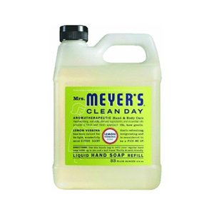 Earth Friendly, Mrs. Meyers Liquid Hand Soap Refill 33 Oz Lemon Verbena Scent - Pack of 6 ()