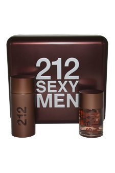212 Sexy 2 Piece Gift Set (3.4 oz. EDT Spray, 3.4 oz. After Shave Lotion)