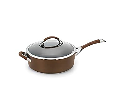 Circulon Symmetry Nonstick 5 Qt. Covered Saute with Helper Handle