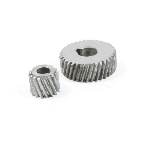 - DealMux Repair Part Spiral Bevel Gear Pinion Set for Hitachi 4SB2 Marble Machine