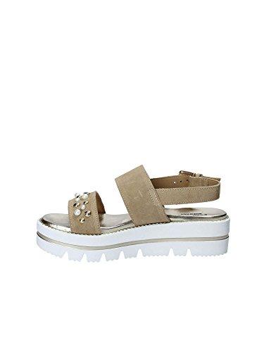 Beige Sandals Wedge Keys 5871 Women fUxqwnCH