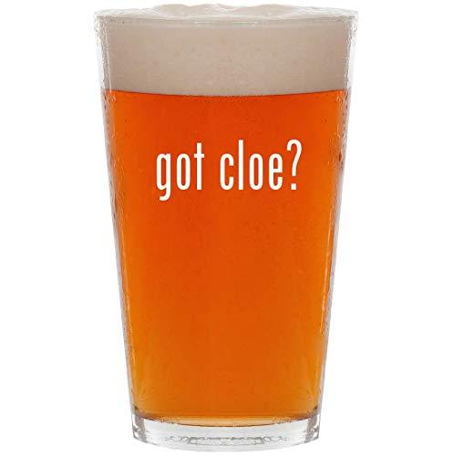 got cloe? - 16oz All Purpose Pint Beer Glass ()