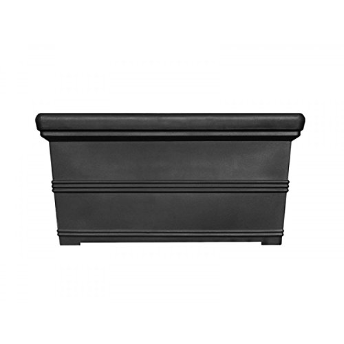 American Essence EP-AETAC-BLA-48 48 x 18 x 24 in. Tacoma Rectangle Planter44; Black by American Essence