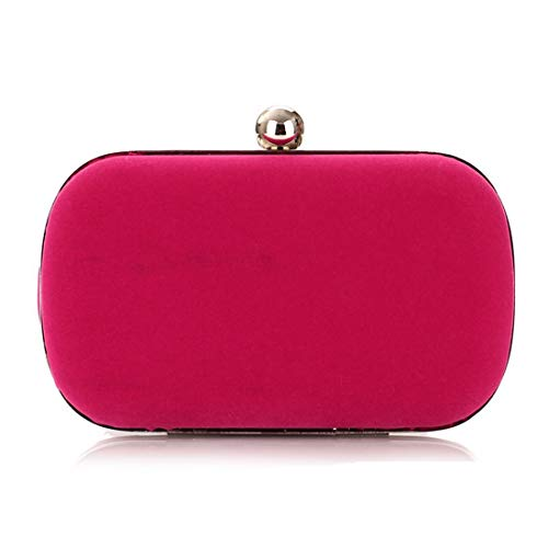 Hungrybubble Red sera donna Borsa Red Rose in da flanella da Color 4AnPSwq4fx