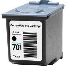 Fax Machine Replacement - Generic Compatible Ink Cartridge Replacement for HP CC635A ( Black )